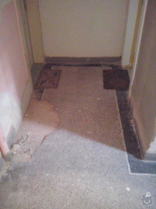 Opravu terazzové podlahy: CAM01092