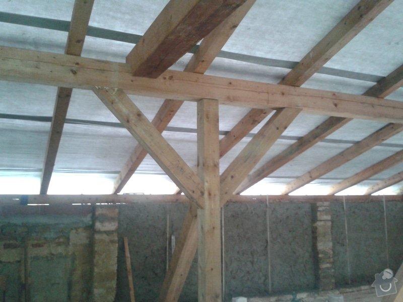 Rekonstrukce stanové střechy rodinného domu: 20140724_175907