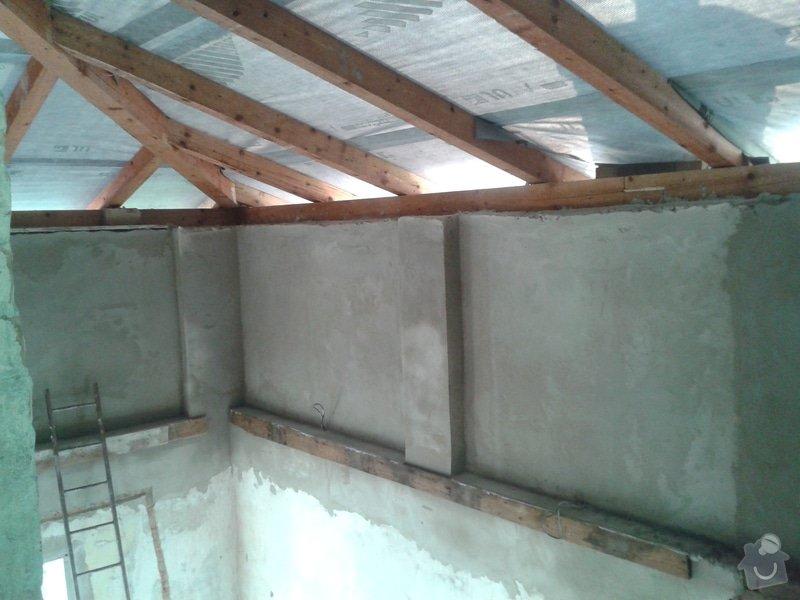 Rekonstrukce stanové střechy rodinného domu: 20140805_184131