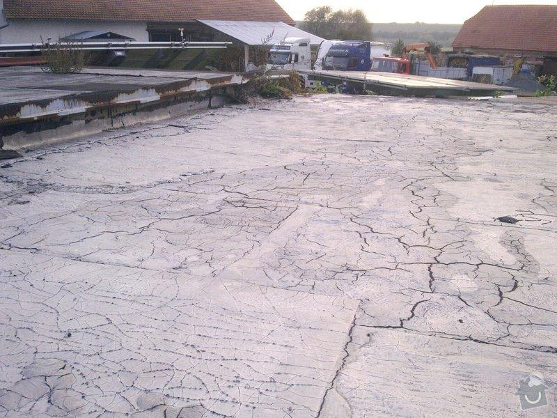 Oprava rovné střechy garáže: 24092014089