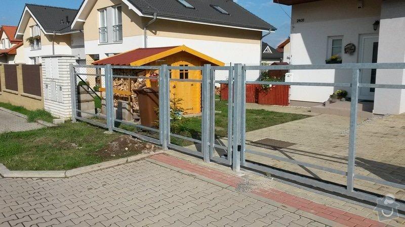 Výroba a montáž konstrukce plotu: 20140922_152401