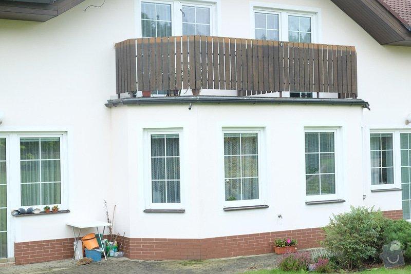 Oprava balkonového zábradlí: 001