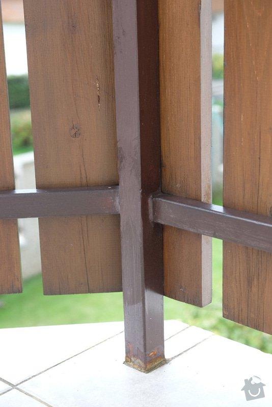 Oprava balkonového zábradlí: 003