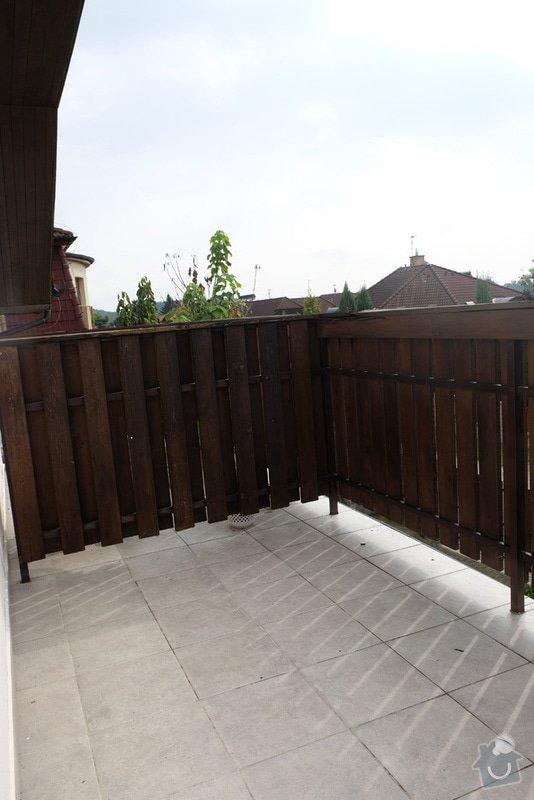 Oprava balkonového zábradlí: 005