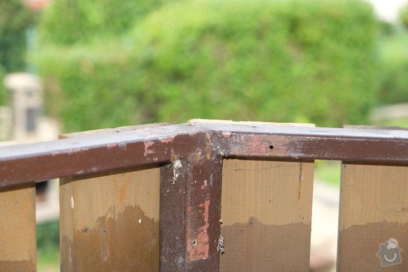 Oprava balkonového zábradlí: 006