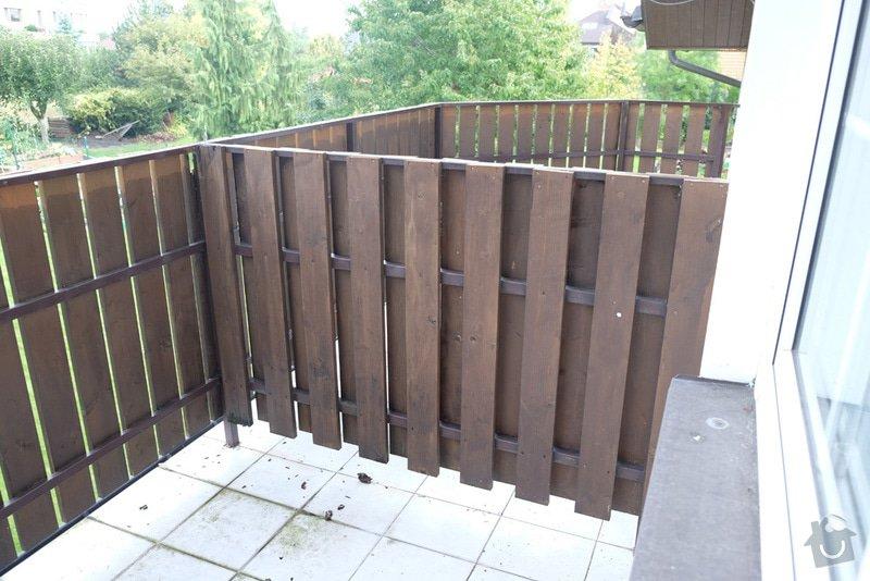 Oprava balkonového zábradlí: 008
