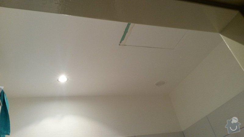 Drobná zakázka pro sádrokartonáře - podhled v koupelně: 20140926_210904