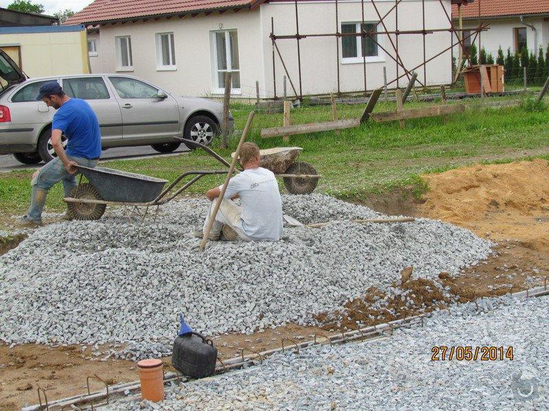 Hrubá stavba rodinného domu, instalace: 2