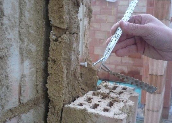 Hrubá stavba rodinného domu, instalace