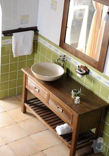 Výroba koupelnového nábytku: umyvadlova