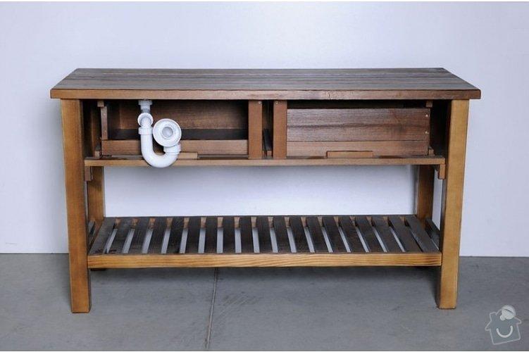Výroba koupelnového nábytku: umyvadlova-skrinka