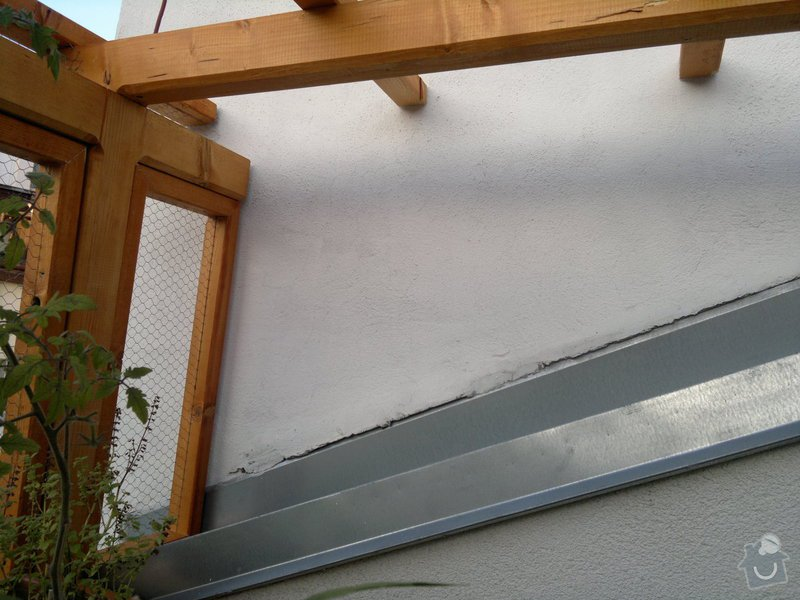 Klempirske prace + plastova striska -terasa: 2014-09-23-1835