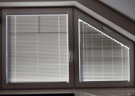 Zaluzie na nestandardni okno