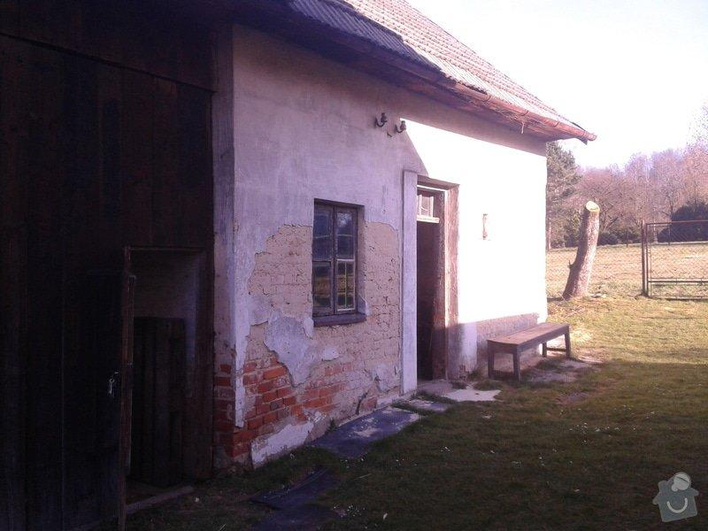 Výměna oken dveří, fasáda,podbytí,zámková dlažba,interiér - zednické opravy, elektrika: 2014-03-20_15.58.56