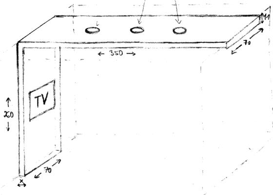Sádrokartonový kastlík