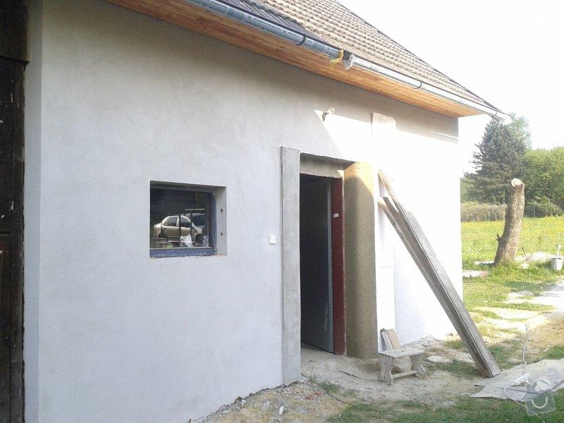 Výměna oken dveří, fasáda,podbytí,zámková dlažba,interiér - zednické opravy, elektrika: 2014-04-30_17.22.38