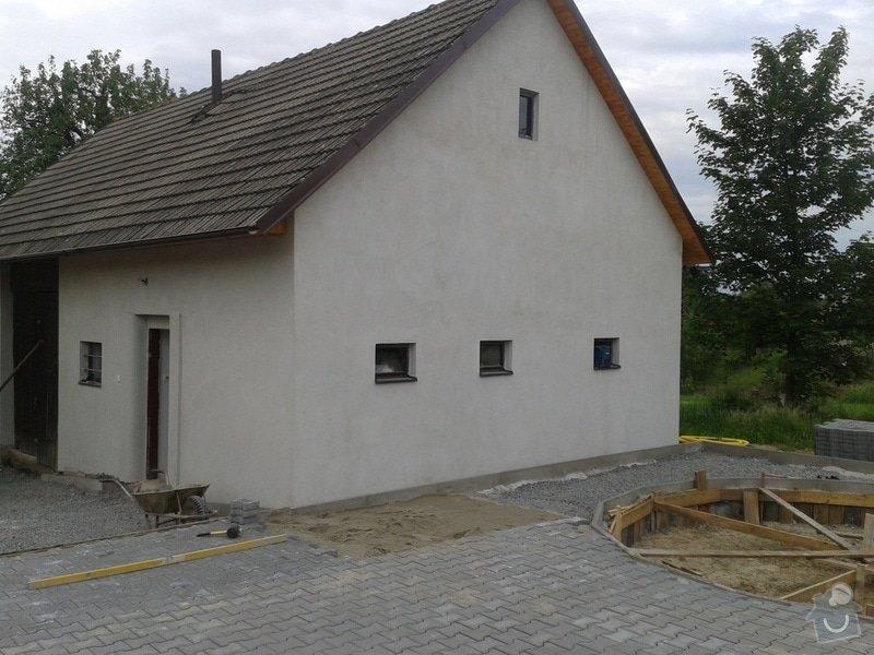 Výměna oken dveří, fasáda,podbytí,zámková dlažba,interiér - zednické opravy, elektrika: 2014-05-27_18.24.28