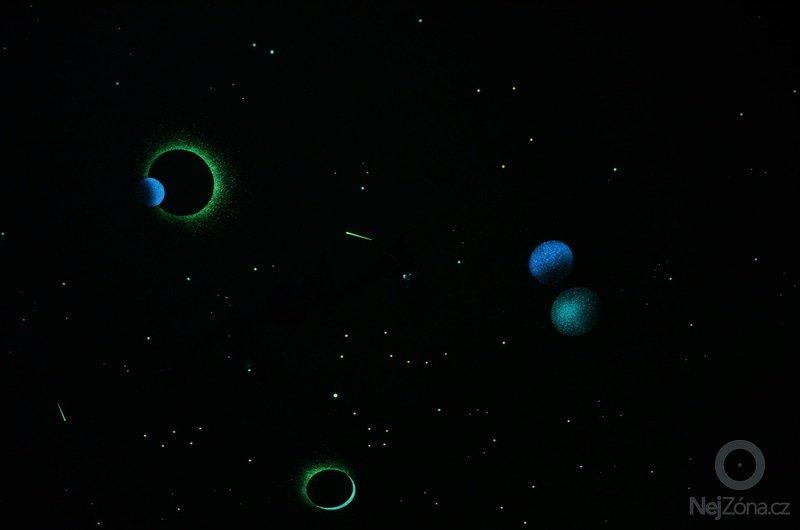 Noční obloha do dětského pokoje - inspirace: DSC_0022