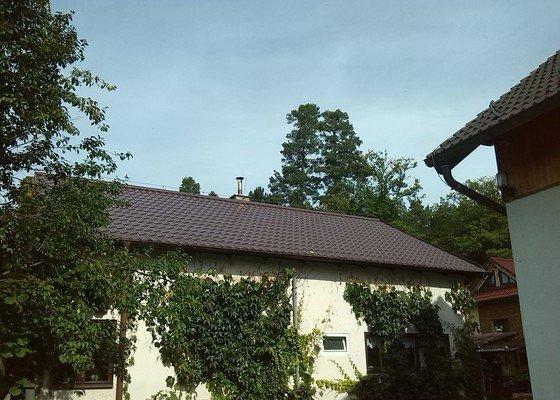 Přeložení střechy