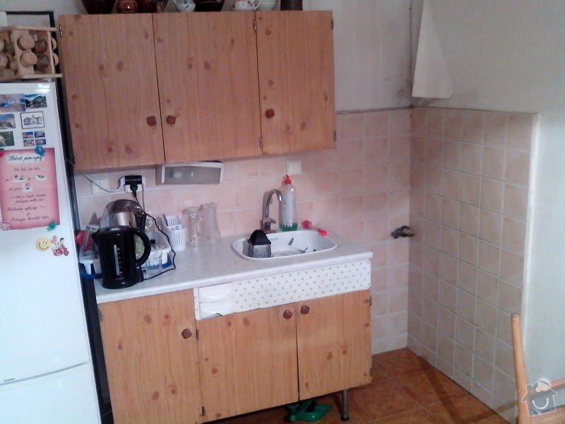 Obložení a zarovnání kuchyňské stěny ytongem: IMG_20140930_220011