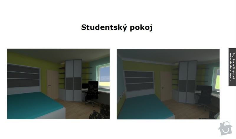Návrh studentského pokoje: studenstky_pokoj1