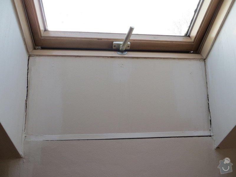 Oprava sádrokartonu v podkrovním bytě: IMG_5173