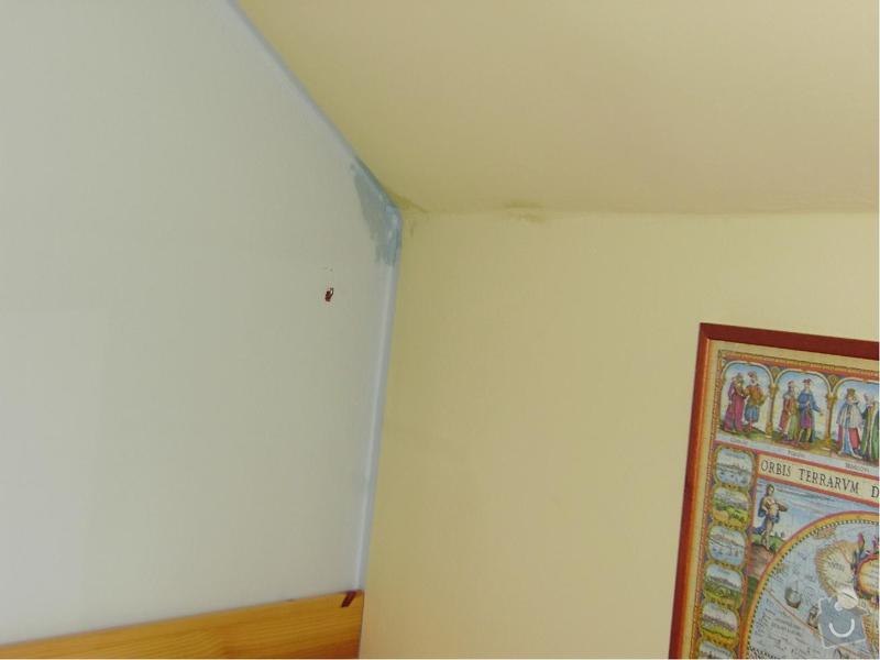 Opravu střechy : Fotka_zatekani