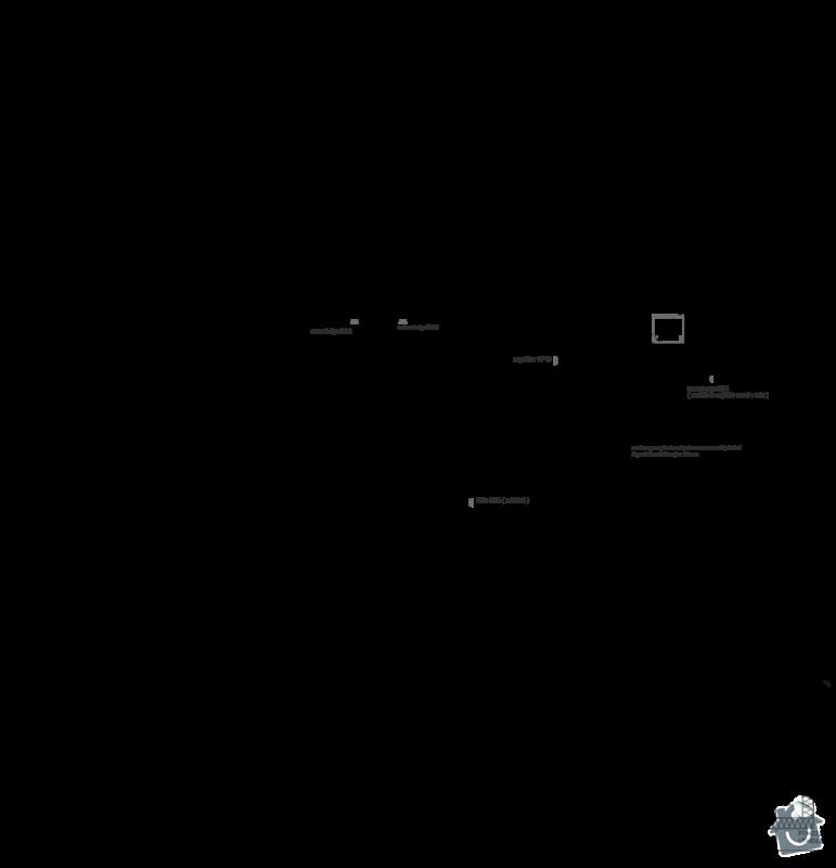 SDK strop v přízemním domě: pudorys_novy