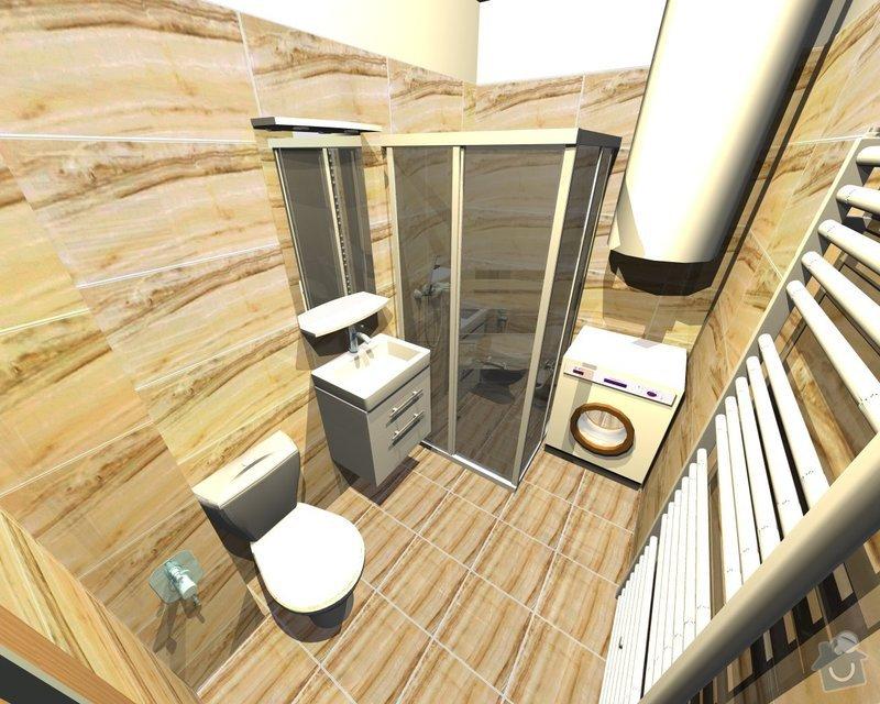 Rekonstrukce koupelny: Skorepa1