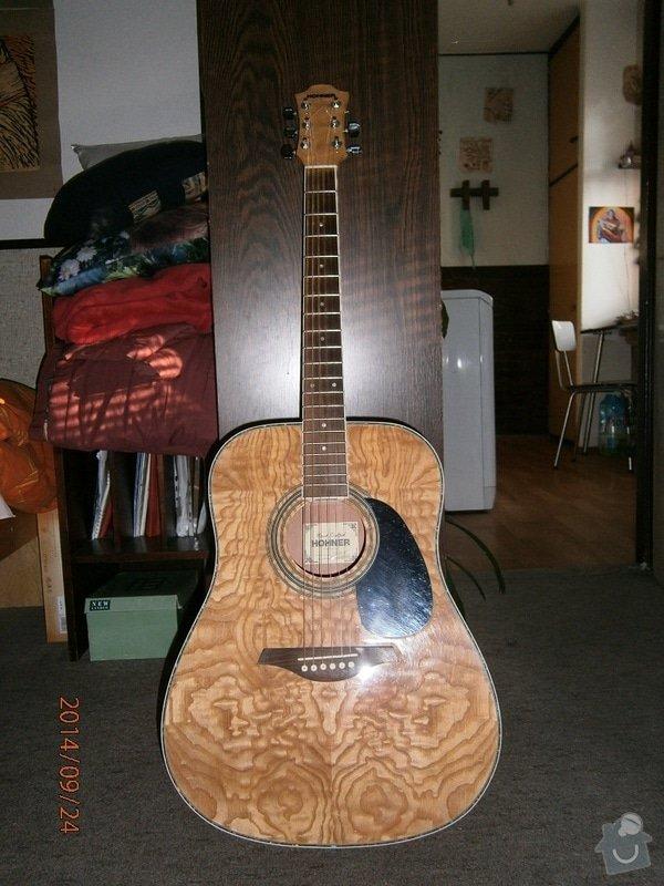 Oprava akustické kytary: P9240001