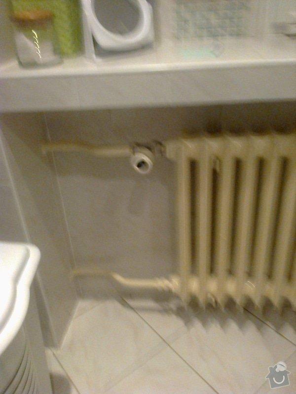 Výměna radiátoru v  bytě: Fotografie0038