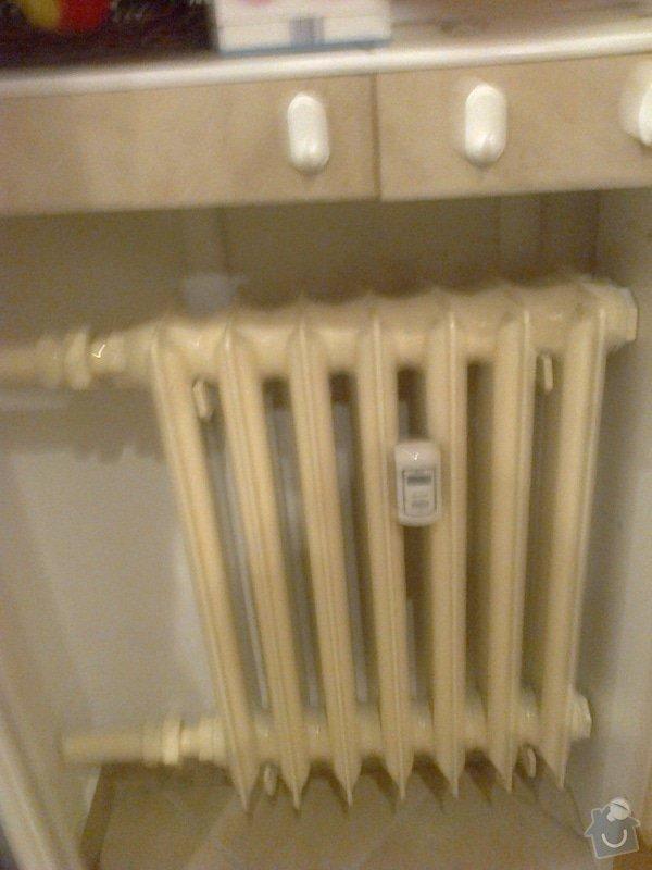 Výměna radiátoru v  bytě: Fotografie0041