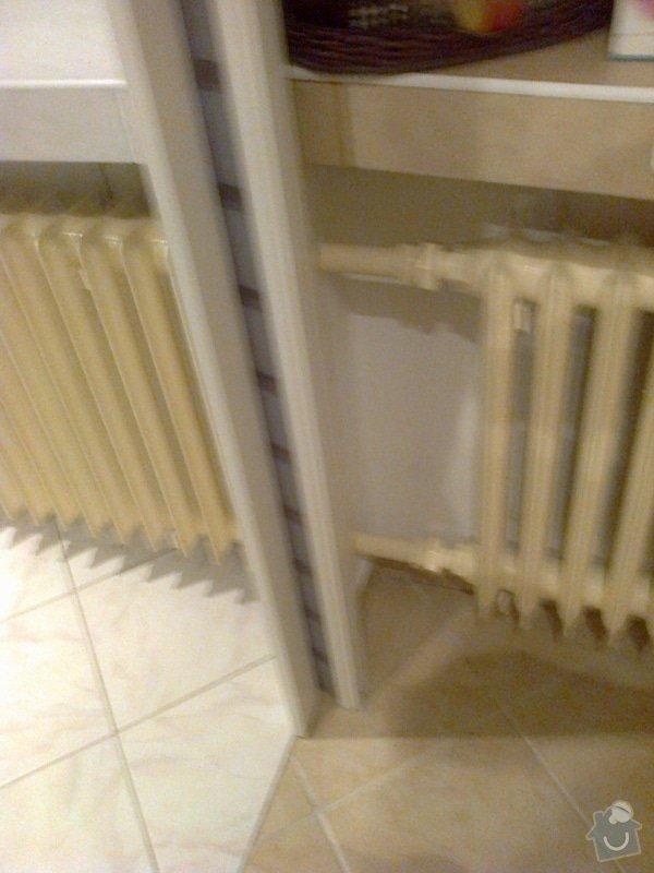 Výměna radiátoru v  bytě: Fotografie0040