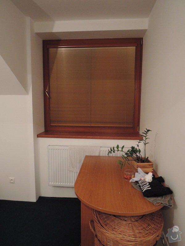 Horizontální, interiérové žaluzie na dřevěná eurookna: DSCN3528