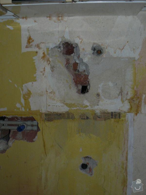 Výměna bojleru, rozvody vody v koupelně, : koupelna_Holesovice6Stara
