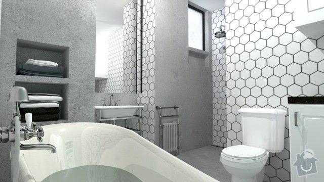 Hlinikove/ocelove vysouvaci okno do sprchy: VIZ_14d