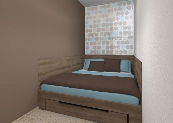 Návrh velmi malé ložnice