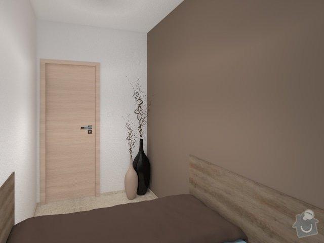 Návrh velmi malé ložnice: 3_mala_utulna_loznice_modra