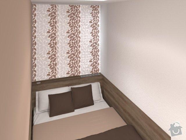 Návrh velmi malé ložnice: 5_mala_utulna_loznice_hneda