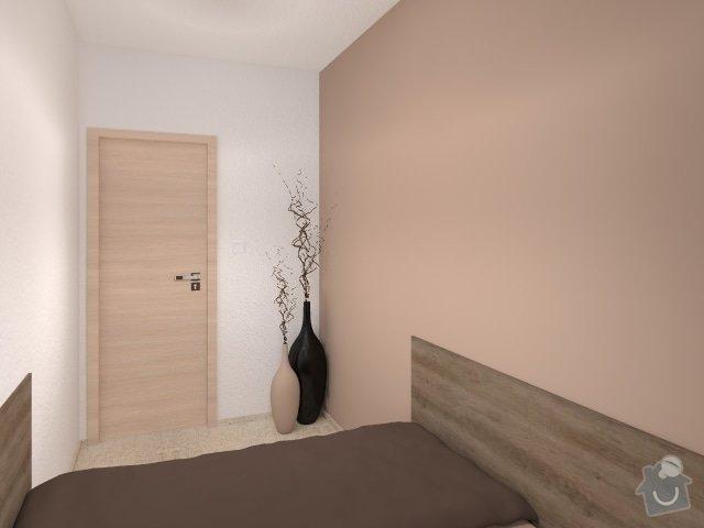 Návrh velmi malé ložnice: 6_mala_utulna_loznice_hneda