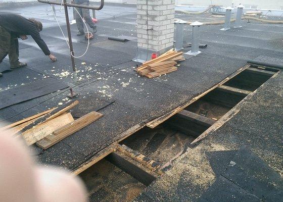 Zateplení pultové střechy