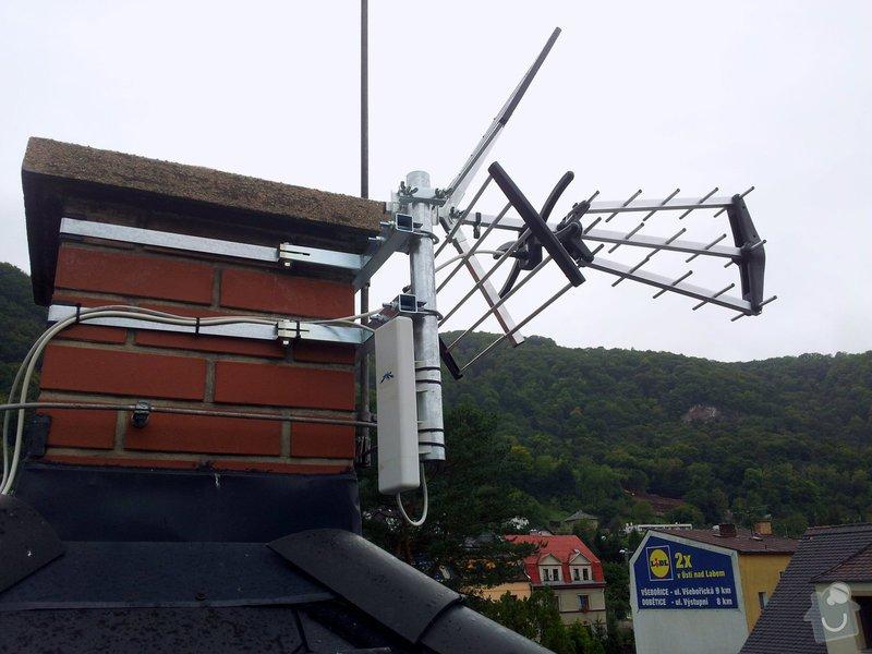 Instalace televizní a wifi antény.: 20140926_140805