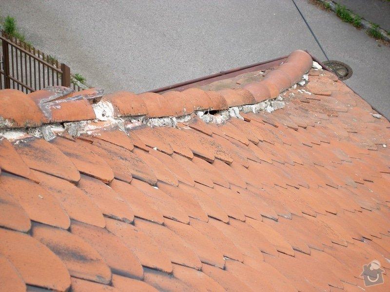 Oprava střechy: P8151754