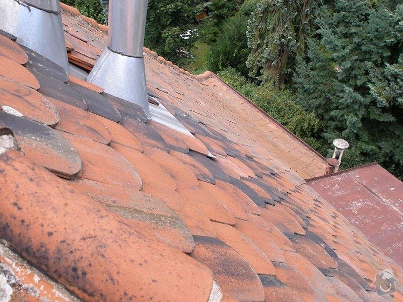 Oprava střechy: P8151755