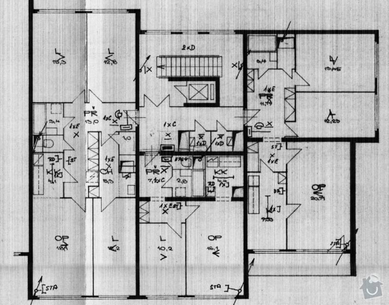 Rekonstrukce bytu - bezbariérové řešení: Planek_bytu_v_dome