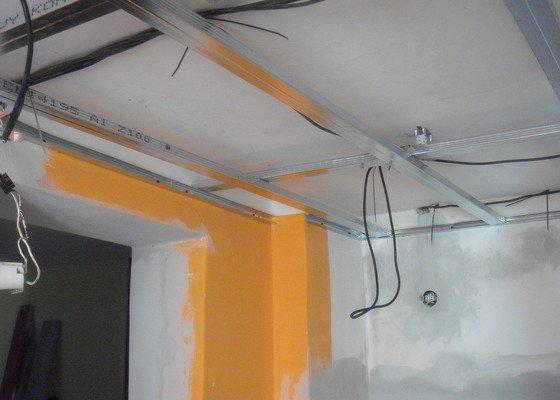 Montáž SDK podhledů a plovoucí podlahy