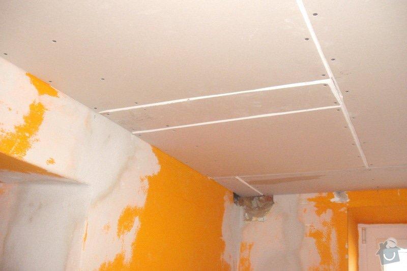 Montáž SDK podhledů a plovoucí podlahy: Lisna_013_10_