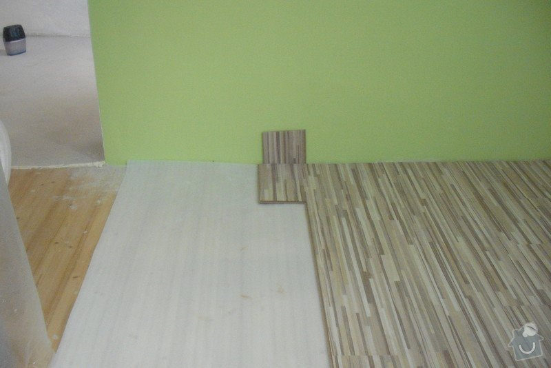 Montáž SDK podhledů a plovoucí podlahy: Lisna_013_71_