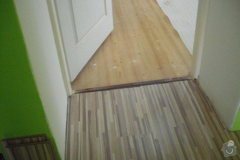 Montáž SDK podhledů a plovoucí podlahy: Lisna_013_74_