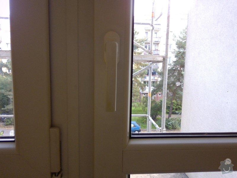 Výměna klik u plastového akna a u plastových dveří za kliky se zámkem: dvere_-_profil